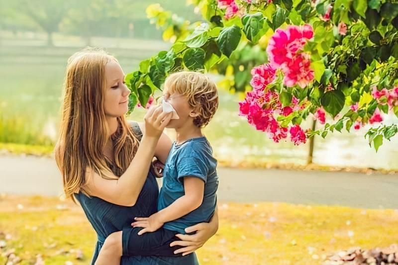 Поліноз: як допомогти дитині? 1