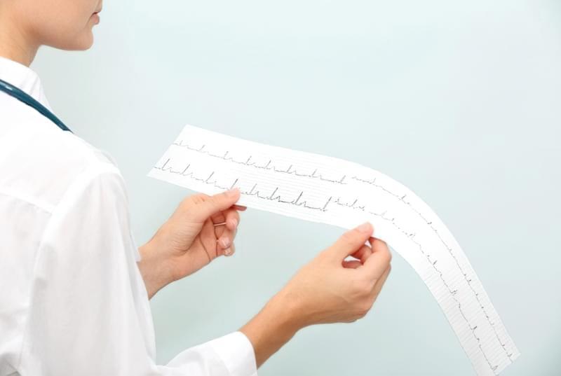 ЕКГ дозволить виявити гіпертрофію передсердя і шлуночка