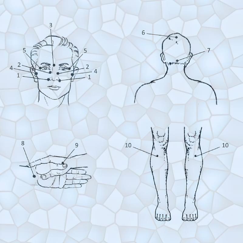 Як вилікувати нежить у дітей і дорослих точковим масажем 2