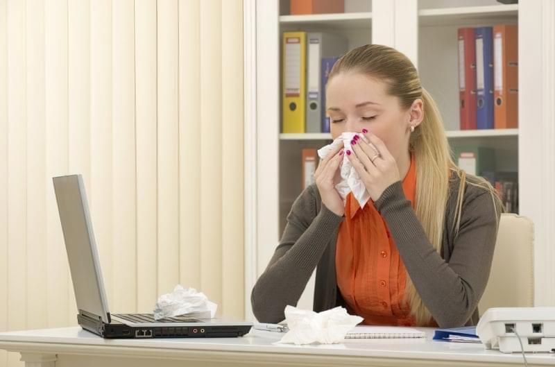 Застуда в офісі