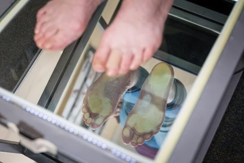 Плантографія: показання та методика дослідження 2