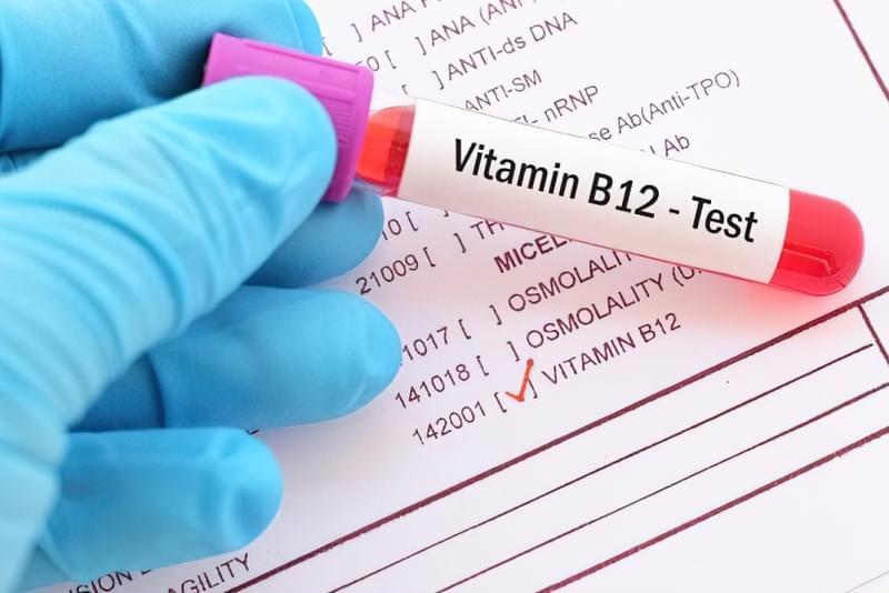 Синдром хронічної втоми, взаємозв'язок між дефіцитом вітаміну В12 і втомою 2