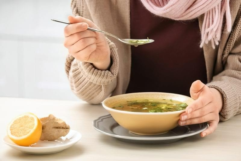 Як харчуватися при застуді? 1